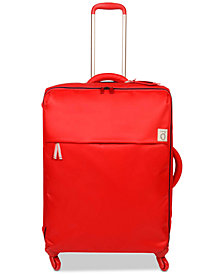 "Lipault Ines De La Fressange 26"" Softside Spinner Suitcase"