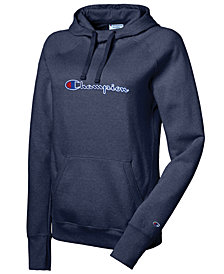 Champion Powerblend Logo Fleece Hoodie