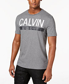 Calvin Klein Jeans Men's Big & Tall Graphic-Print T-Shirt