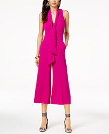 Trina Turk Cropped Wide-Leg Jumpsuit