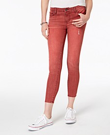Juniors' Colored Distressed Skinny Jeans