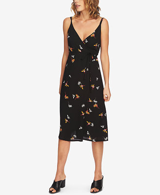 floral-print-wrap-dress by 1state