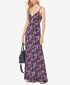 MICHAEL Michael Kors Floral-Print Maxi Dress