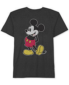 Disney Big Boys Classic Mickey-Print T-Shirt