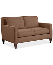 "CLOSEOUT! Kenford 57"" Fabric Loveseat, Created for Macy's"