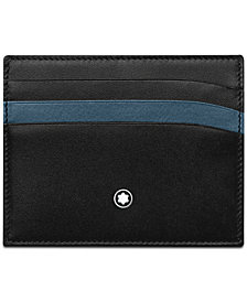 Montblanc Men's Meisterstück Leather Card Holder