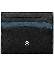 Montblanc Men's Meisterstück Leather Card Holder