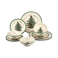 Spode Christmas Tree 12-Pc. Dinnerware Set