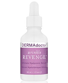 Wrinkle Revenge Ultimate Hyaluronic Serum, 1-oz.