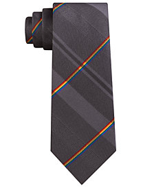 Kenneth Cole Reaction Men's Pride Plaid Slim Tie