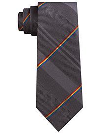 Kenneth Cole Reaction Men's Pride Plaid Slim Tie