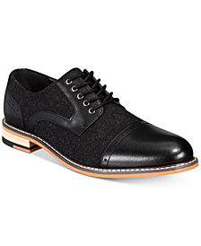 Bar III Men's Frankie Perforated Oxfords, Created for Macy's