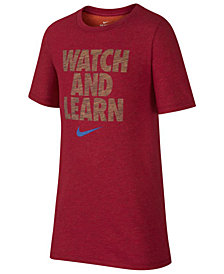 Nike Big Boys Learn-Print T-Shirt