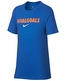 Nike Big Boys Goals-Print T-Shirt