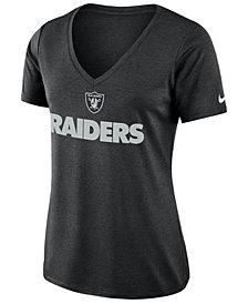 Nike Women's Oakland Raiders Dri-FIT Touch T-Shirt
