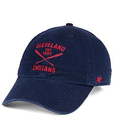 '47 Brand Cleveland Indians Axis CLEAN UP Cap