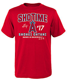 Outerstuff Shohei Ohtani Los Angeles Angels Ohtani Showtime T-Shirt, Big Boys (8-20)