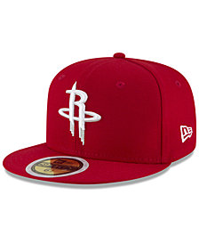 New Era Boys' Houston Rockets Basic 59FIFTY Fitted Cap