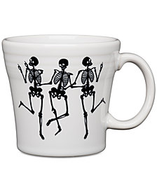 CLOSEOUT! Fiesta Skeleton Tapered Mug