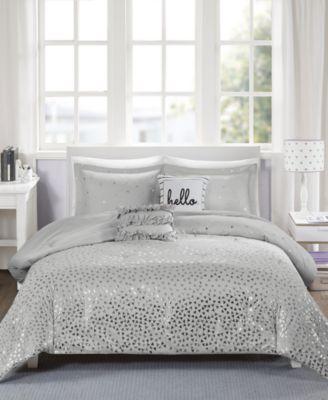 Zoey Reversible 5-Pc. Full/Queen Comforter Set