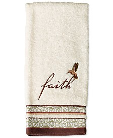 Saturday Knight Inspire Cotton Embroidered Hand Towel