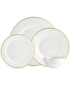 CLOSEOUT! Godinger Avea Gold 16-Pc. Service for 4 Dinnerware Set