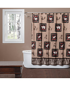 "Saturday Knight Sundance 70"" x 72"" Graphic-Print Shower Curtain"