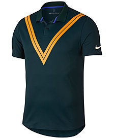 Nike Men's Court Zonal Cooling Roger Federer Tennis Polo