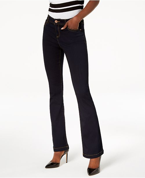 INC International Concepts INC Curvy-Fit INCFinity Bootcut Jeans, Created for Macy's