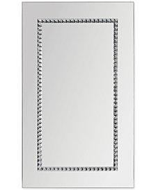 Embedded Jewels Rectangular Mirror, Quick Ship