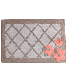 "Saturday Knight Coral Garden Cotton Tufted 20"" x 30"" Bath Rug"