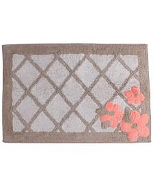 "Saturday Knight Coral Garden Cotton Tufted 20"" x 30"" Bath Rug"