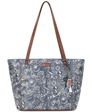 Image of Sakroots Coated Canvas Tote
