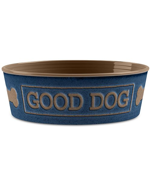 TarHong Good Dog Indigo Medium Pet Bowl