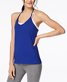 Under Armour Charged Cotton® Skinny Racerback Tank Top