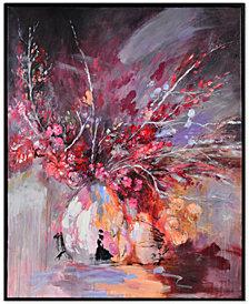 Summer Midnight Framed Art Painting, Quick Ship