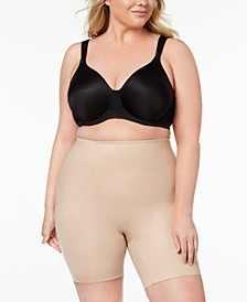 Women's  Plus Size Power Conceal-Her Mid-Thigh Short 10131P