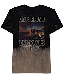 Hybrid Men's Pink Floyd Tour Graphic T-Shirt