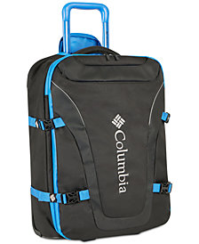 "Columbia Free Roam 21"" Expandable Carry-On Lightweight Spinner Suitcase"