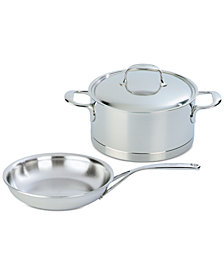 Demeyere Atlantis 3-Pc. Stainless Steel Cookware Set