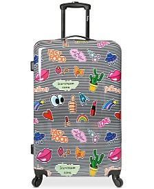 "Wembley Live It Up Ice Cream 28"" Hardside Spinner Suitcase"