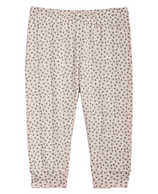 First Impressions Baby Girls Confetti-Print Jogger Pants, Created for Macy's