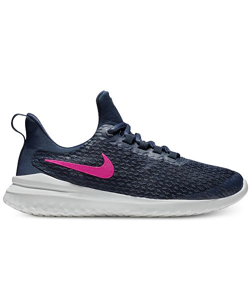 Nike Pink Renew Rival Running Shoe cheap new arrival 5NWKbm1