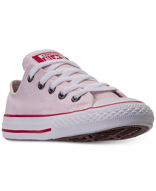 low priced ad5a3 18964 ... Converse Little Girls  Chuck Taylor All Star Ox Casual Sneakers from  Finish ...
