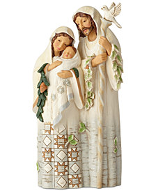 Jim Shore Woodland Holy Family Figurine