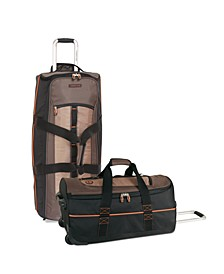 Jay Peak Cocoa Wheeled Duffel Luggage Collection