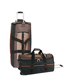 Timberland Jay Peak Cocoa Wheeled Duffel Luggage Collection