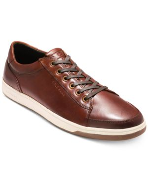 COLE HAAN Men'S Grandpro Spectator Sneakers Men'S Shoes in Woodbury Handstain