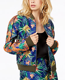 GUESS Kato Embroidered Bomber Jacket