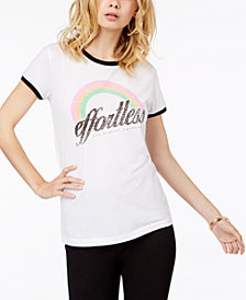 GUESS Graphic Ringer T-Shirt